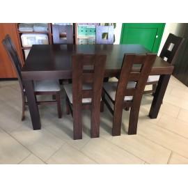 Zestaw Stół YORK+ krzesła Kostka x6szt.