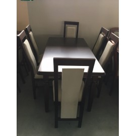 Stół + krzesła x6szt.